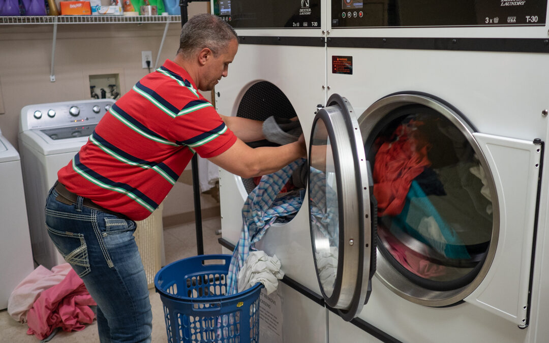 Dryer upgrade complete at Royal Pines
