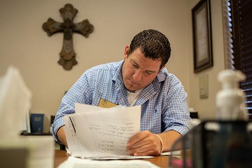 Nick paperwork