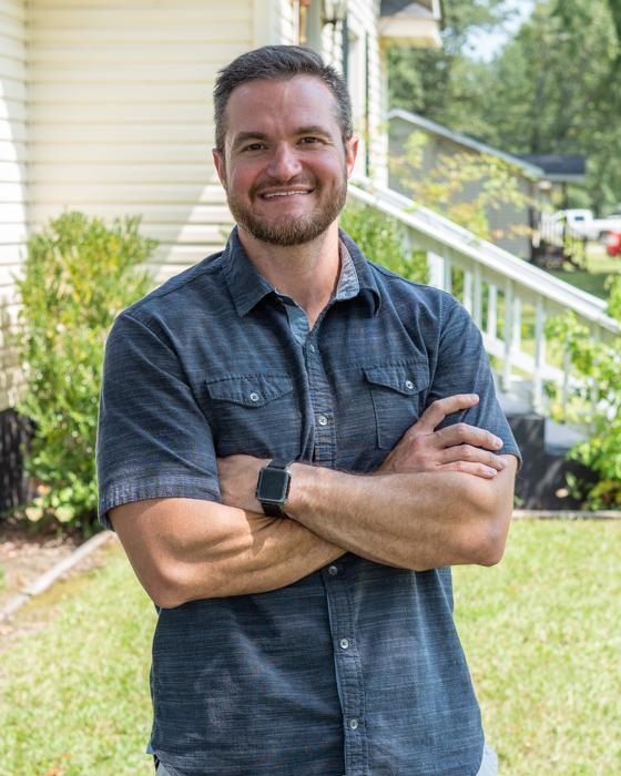 Mark at home